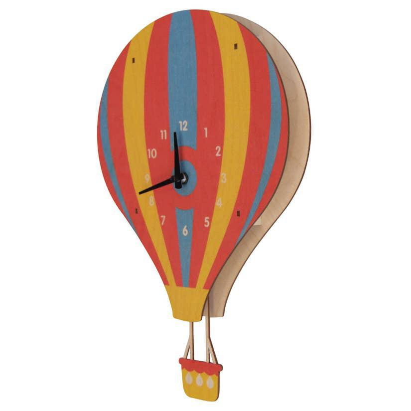 Clock - Hot Air Balloon Pendulum by Modern Moose
