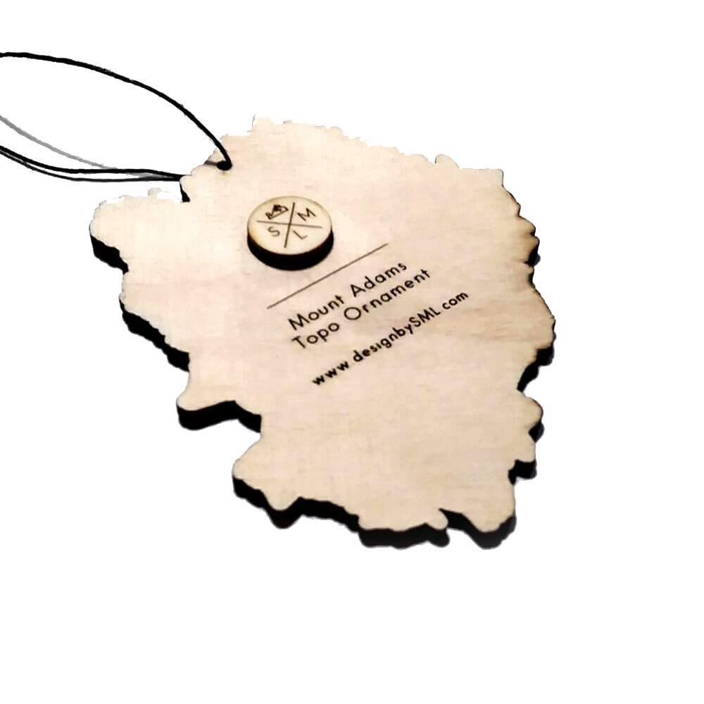 Ornament - Mt. Adams Topography by SML