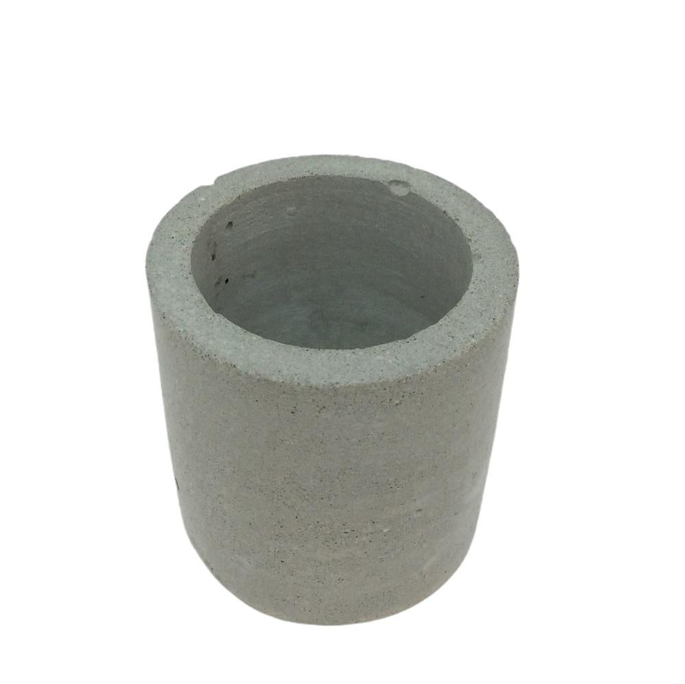 Planter - Plain Concrete Cylinder by Studio Corbelle