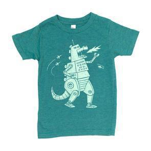 Kids ROBOZILLA (Z) T-shirt by Factory 43