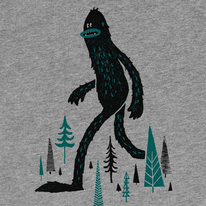 Adult SASQUATCH(Q) Crew Neck Gray by Factory 43