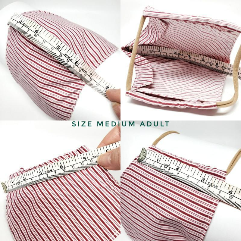 Medium - Red White Candy Stripe by imakecutestuff