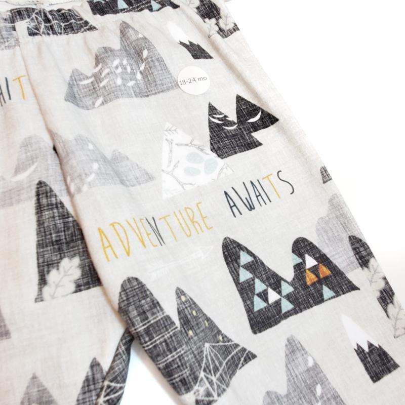 Leggings - Adventure Awaits (3mo, 18mo, 2T) by Alber Road