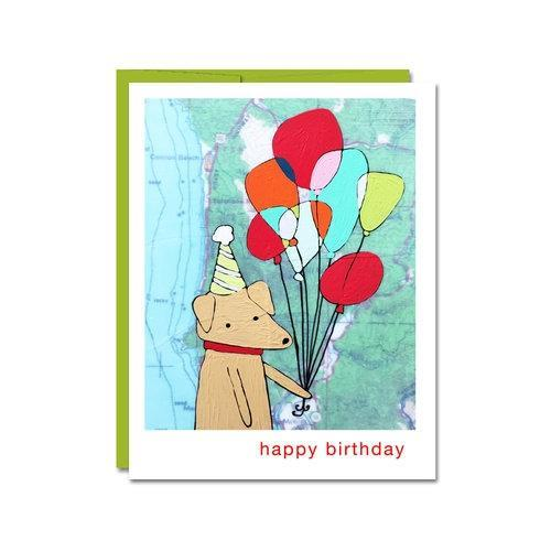 Card - Birthday - Pup by Rachel Austin Art