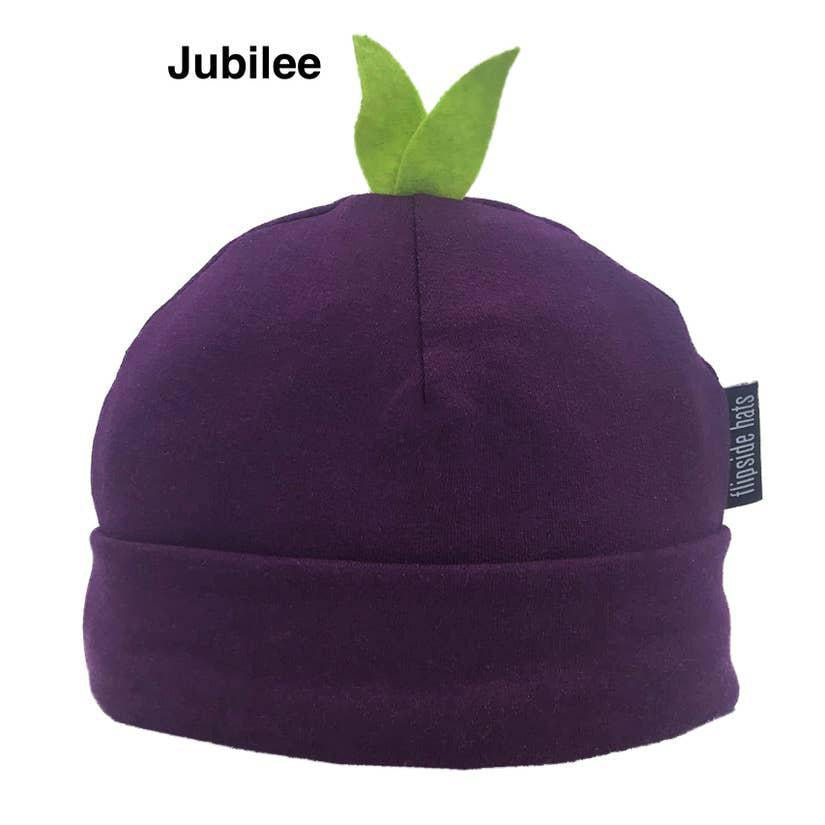 Infant Hat - Eco Sprout Beanie Jubilee Purple by Flipside Hats
