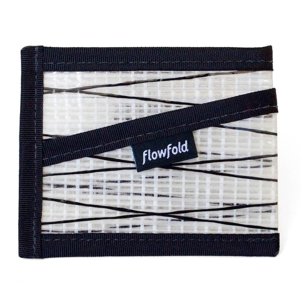 Wallet - Craftsman Three Pocket - White - by Flowfold