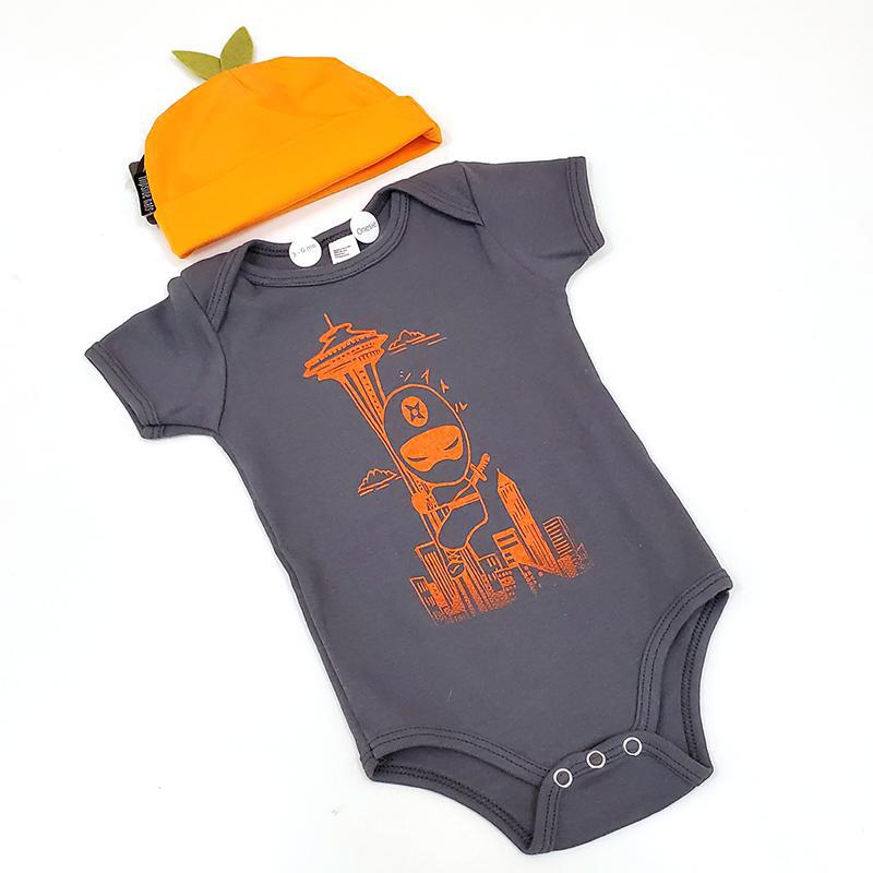 Gift Bundle - Seattle Ninja in an Orange Hat featuring Namu and Flipside Hats