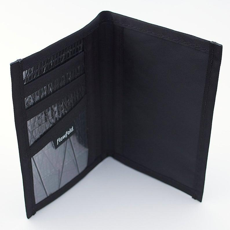 Passport Holder - RFID Blocking Navigator Black by Flowfold