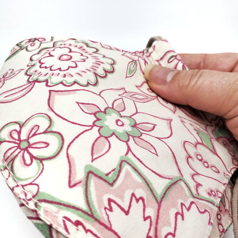 Medium - Pink Green Cream Floral by imakecutestuff