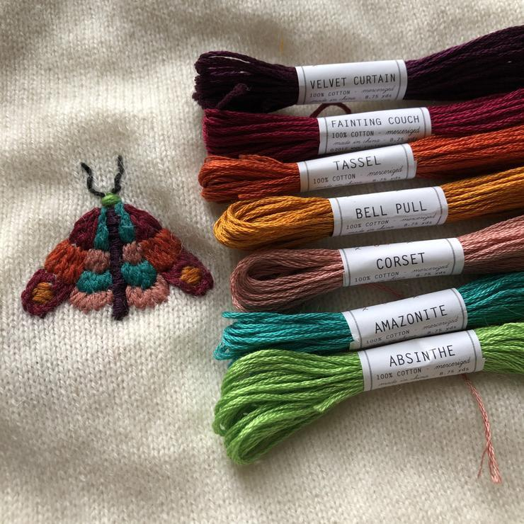 Mending Kit - Moth by Wren Bird Arts