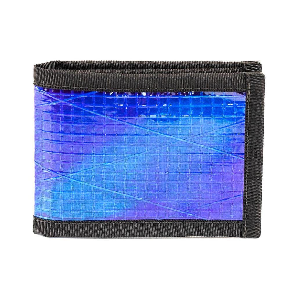 Wallet - Recycled Sailcloth Vanguard Bifold - Ultraviolet - by Flowfold