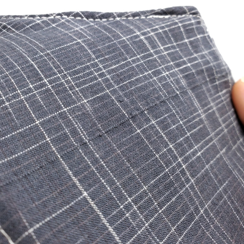 Medium - Charcoal Plaid Self-lined by imakecutestuff