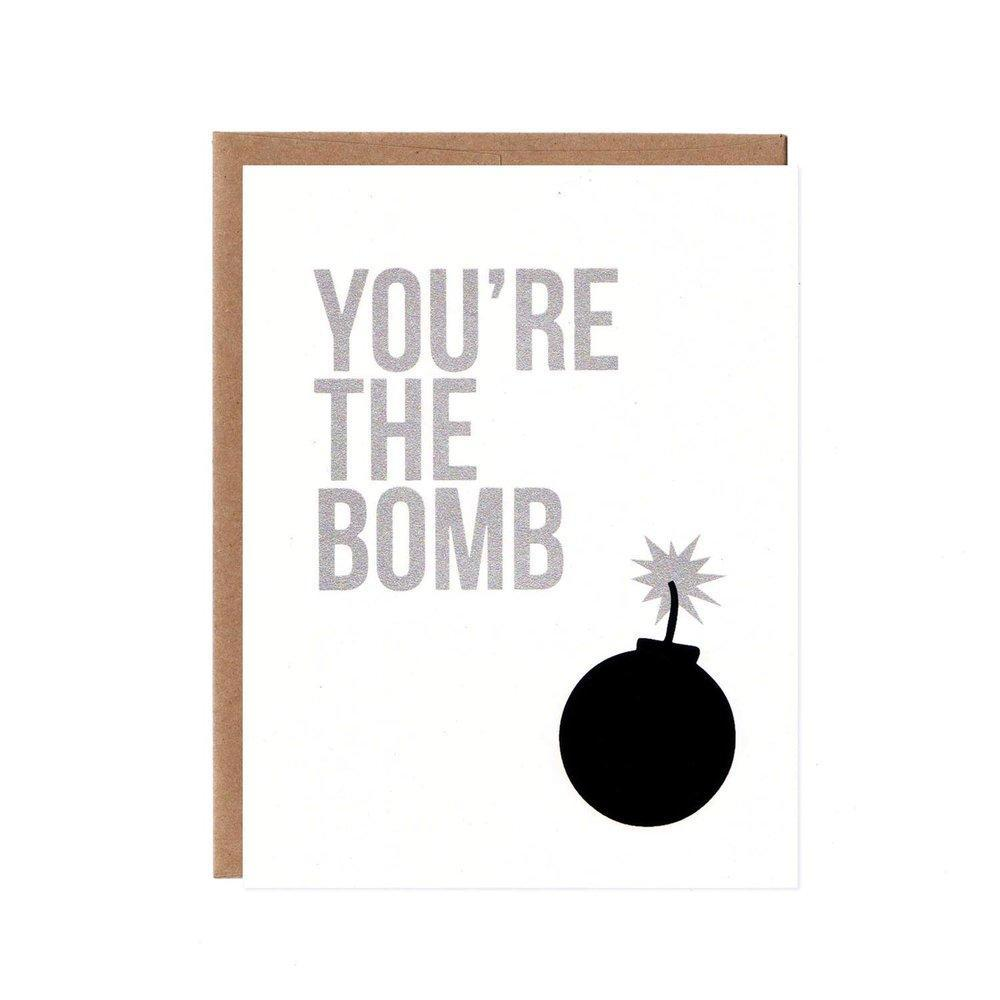 Card - You're The Bomb by Orange Twist