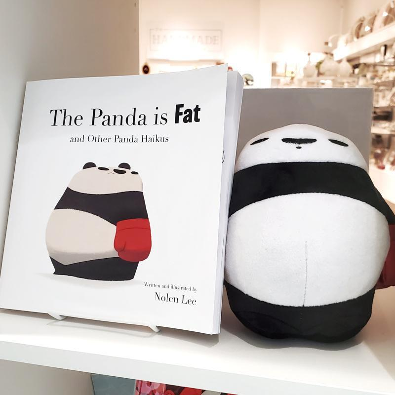 Book - Book 1 - The Panda is Fat (hard or soft cover) by Punching Pandas