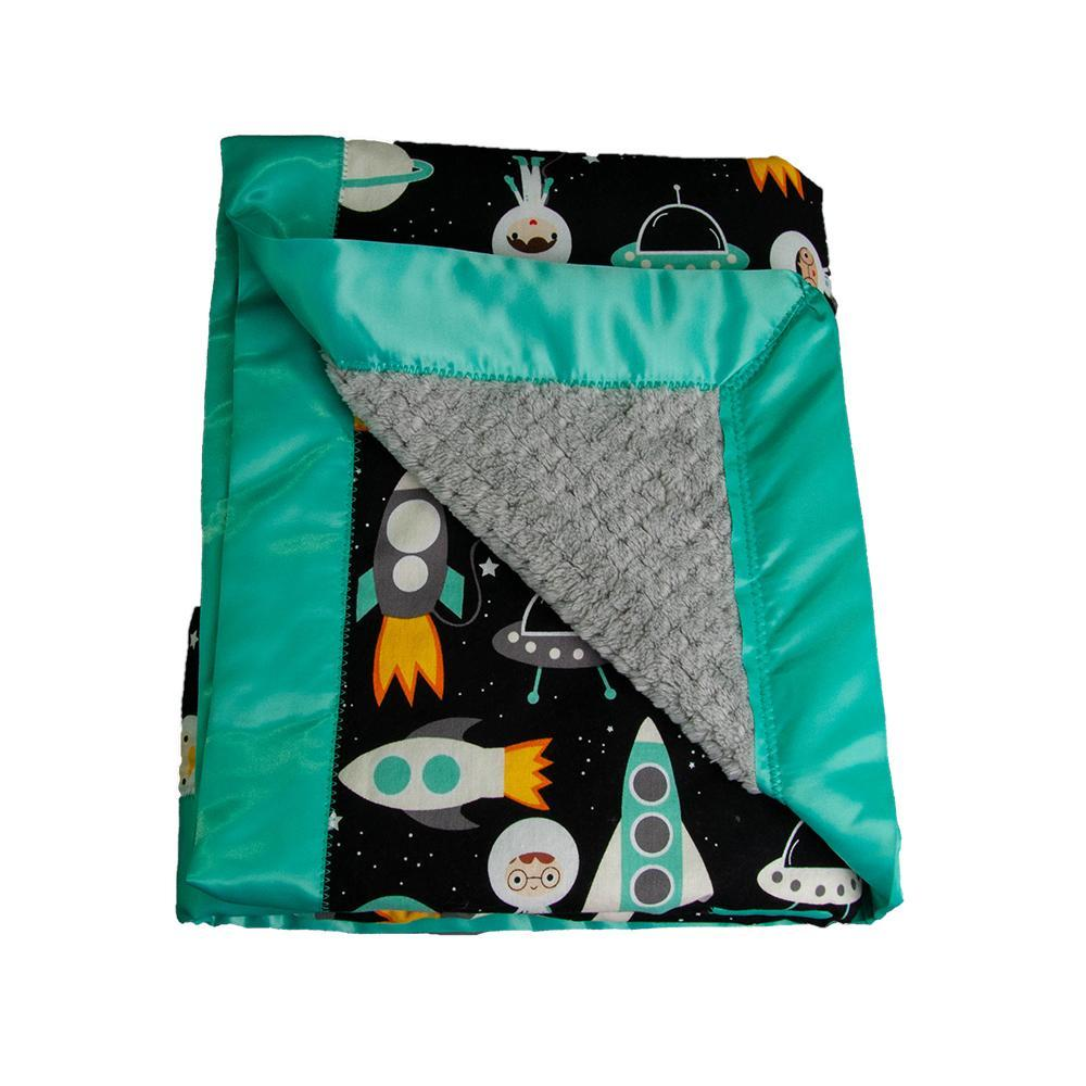 Stroller Blanket - Space Explorers by MarshMueller