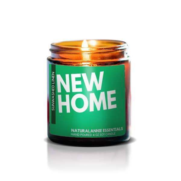 Candle 4oz - New Home by NaturalAnnie Essentials