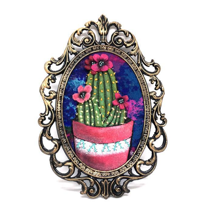Applique Art - Cactus 1 by Alise Baker of Chubby Bunny