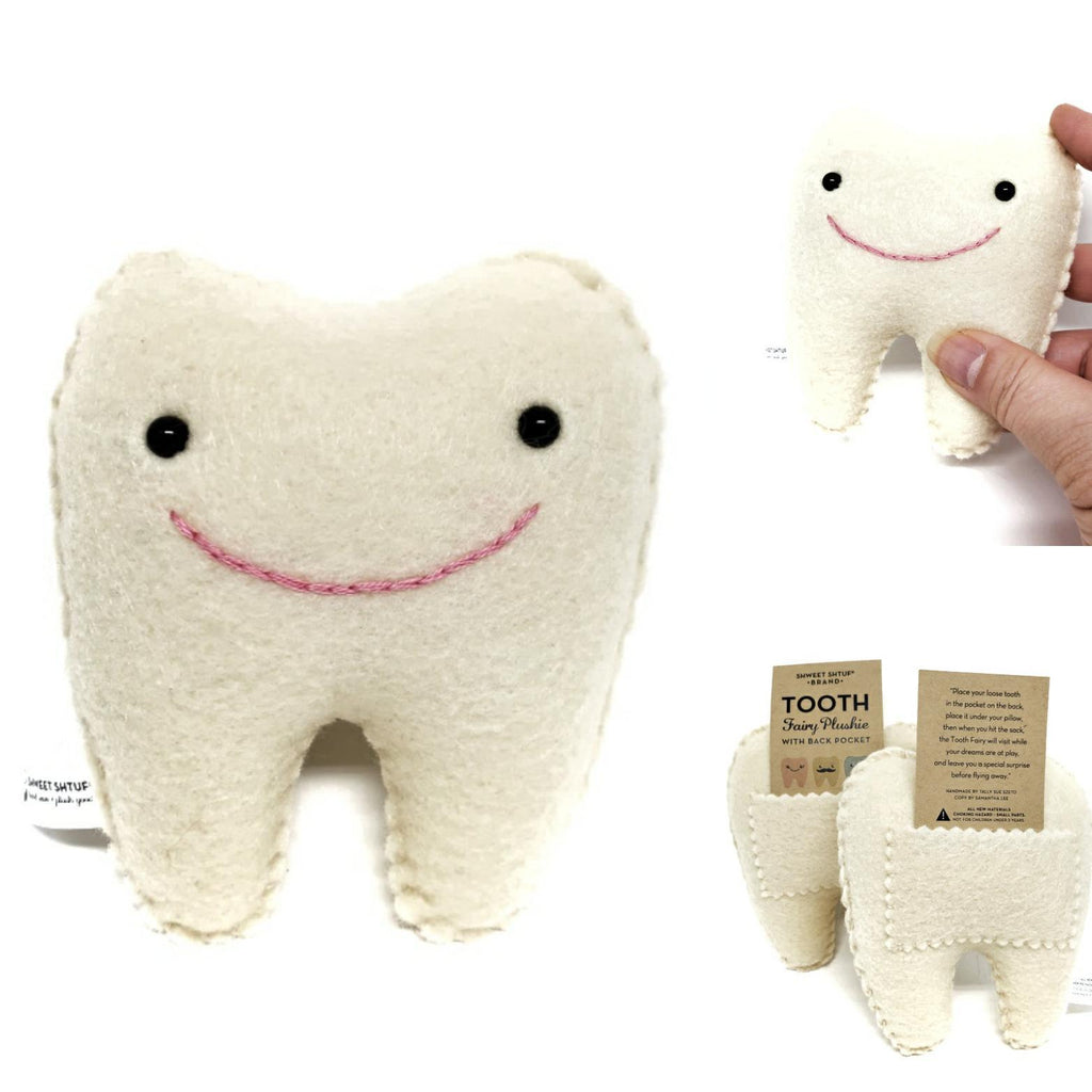 Plush - Tooth Fairy Pillow (no eyelashes) by Shweet Shtuf