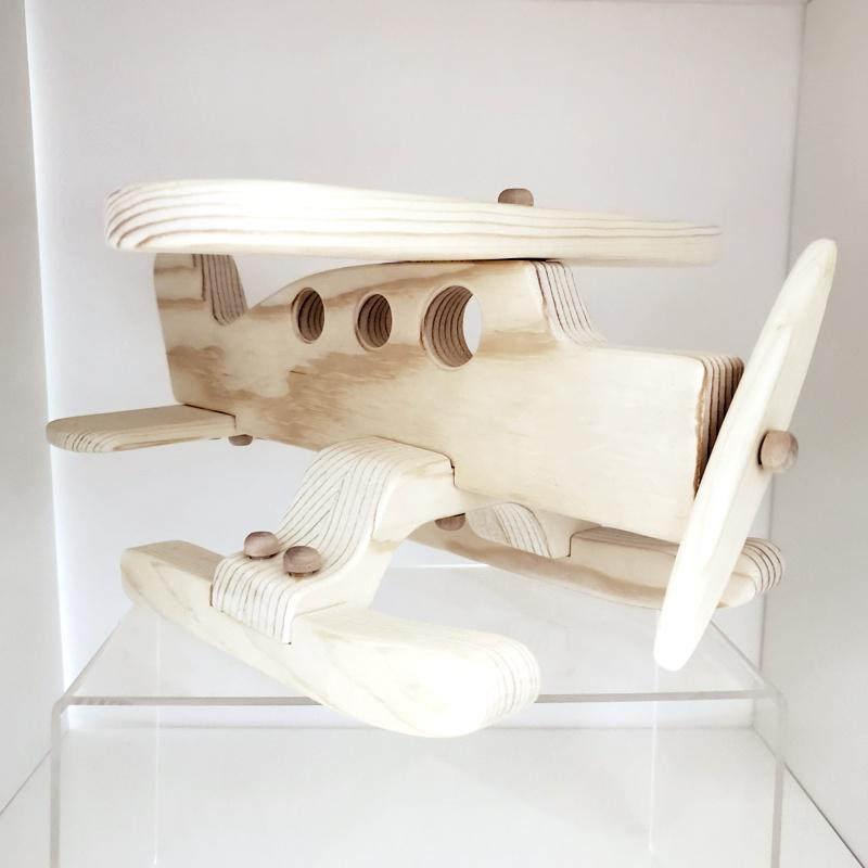 Finished Toy - Wooden Float Plane  by My Grandpa's Wooden Toys