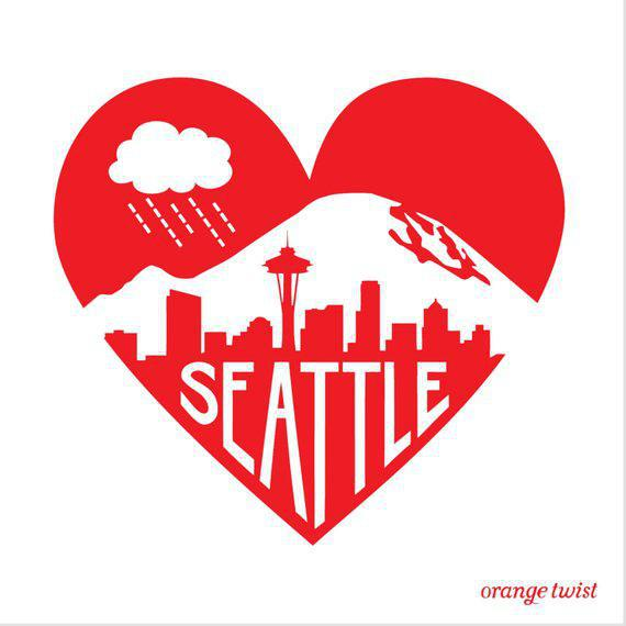 Kids Tee - Seattle Love by Orange Twist