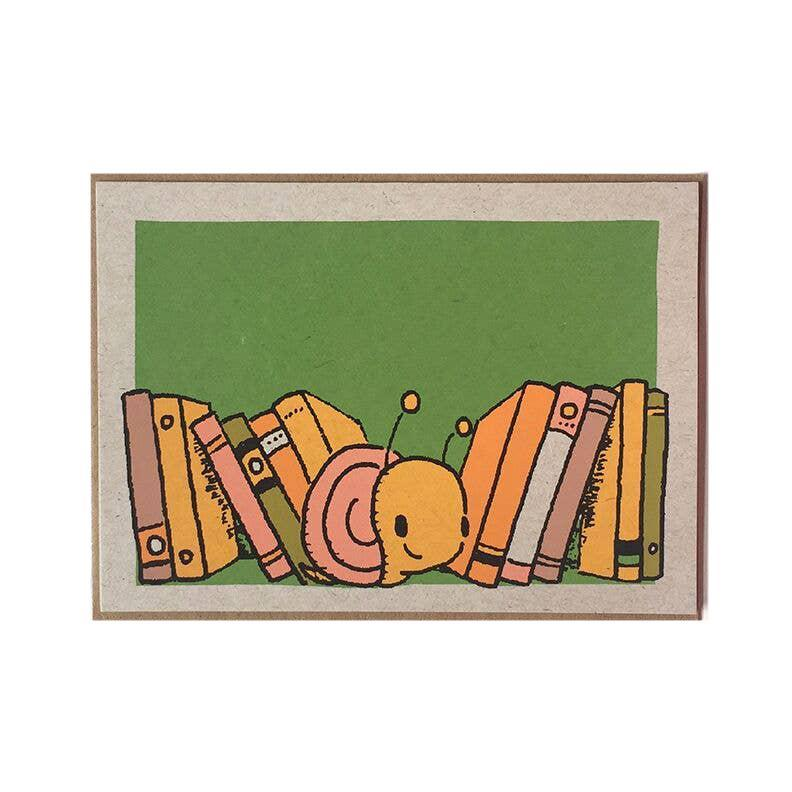 Bookmark Card - Snail by Everyday Balloons Print Shop