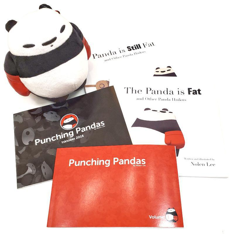Gift Bundle - Punching Pandas Collector's Edition featuring Punching Pandas