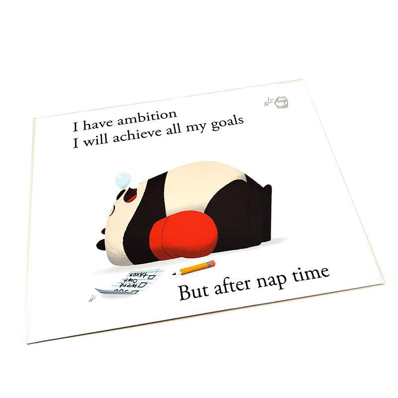 8 x 10 Haiku Assorted Color Prints by Punching Pandas