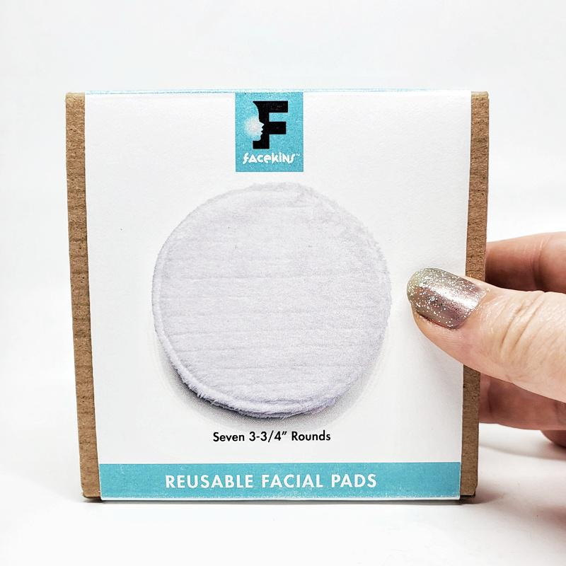 Face Pads - Large 3 3/4 inch Rounds Set of 7 by Facekins