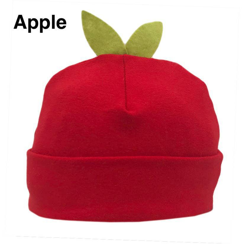 Infant Hat - Eco Sprout Beanie Apple Red by Flipside Hats