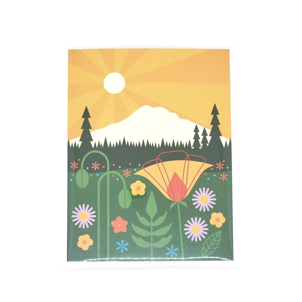 Card - Mount Rainier by Amber Leaders Designs