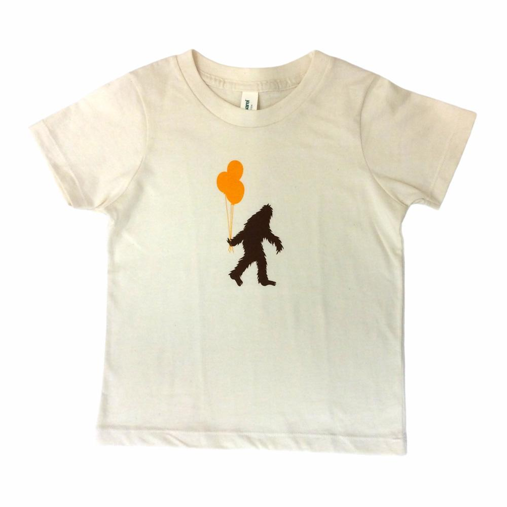 Kids Tee - Sasquatch Balloons by Orange Twist