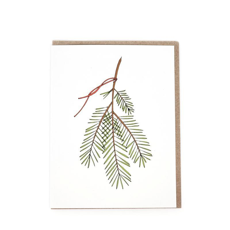 Card - Holiday - Sprig Seasonal by Red Umbrella Designs