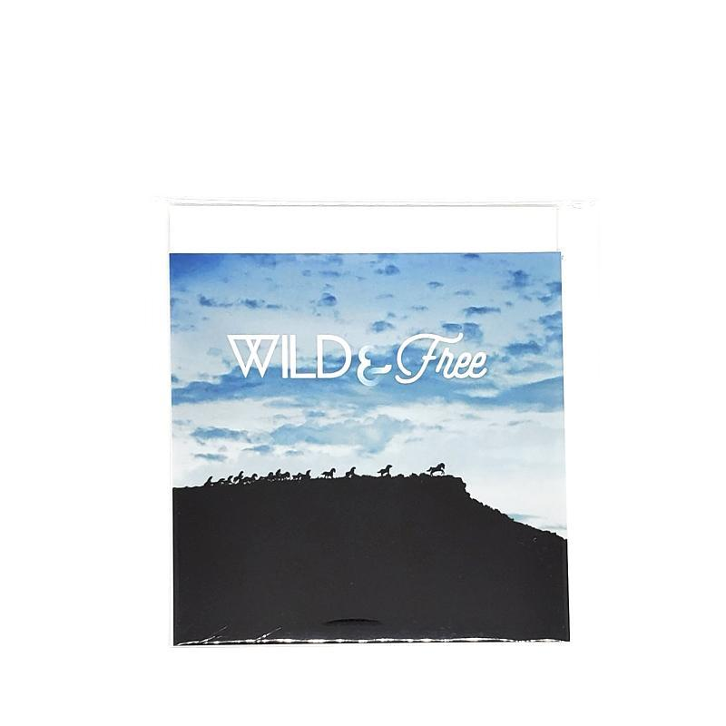 Art Print - 4x4 - Wild & Free (Wild Horses Monument) by Michaela Rose