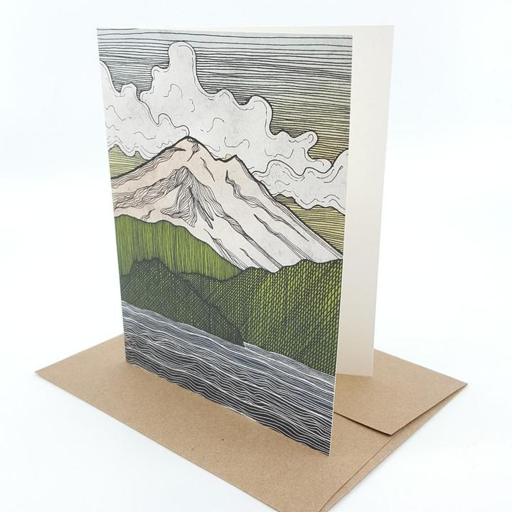 Card - Mt Baker by Red Umbrella Designs