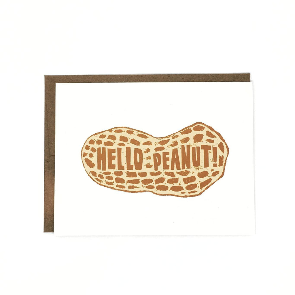 Card - Hello Peanut by Orange Twist