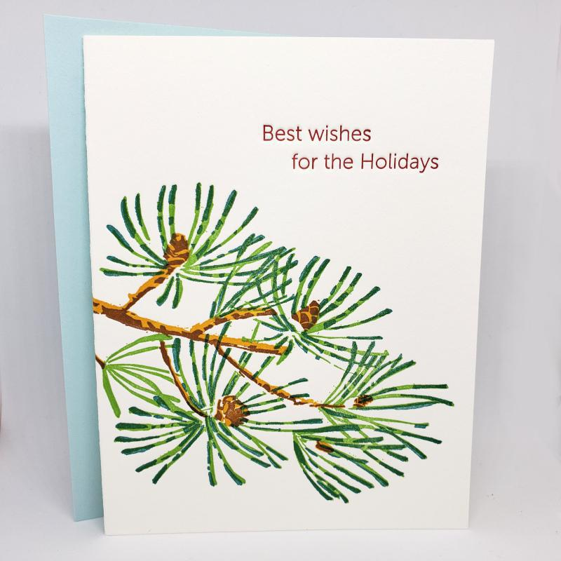 Card - Holiday - Scots Pine Holidays by Ilee Papergoods