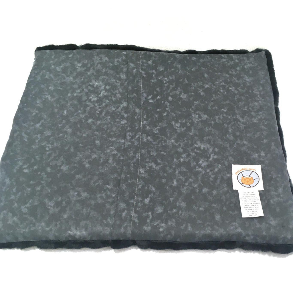 Luxury Fur Sleeping Mat - Black by The Cat Ball