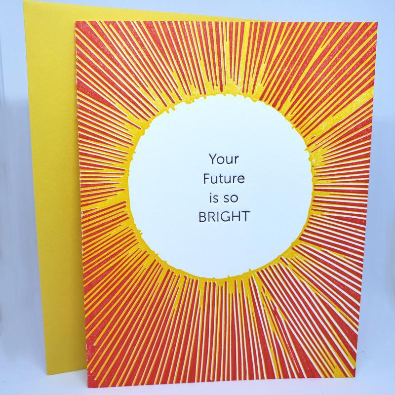 Card - All Occasion - Sun Bright Future by Ilee Papergoods