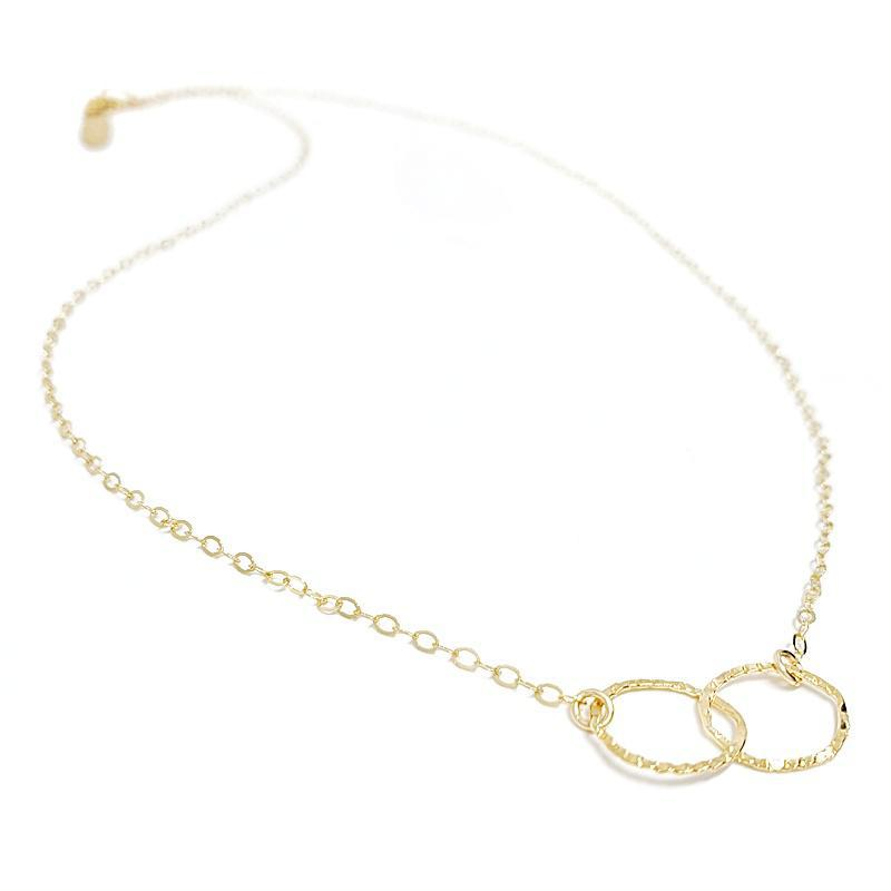 Necklace - Infinity 14K Gold-fill by Foamy Wader