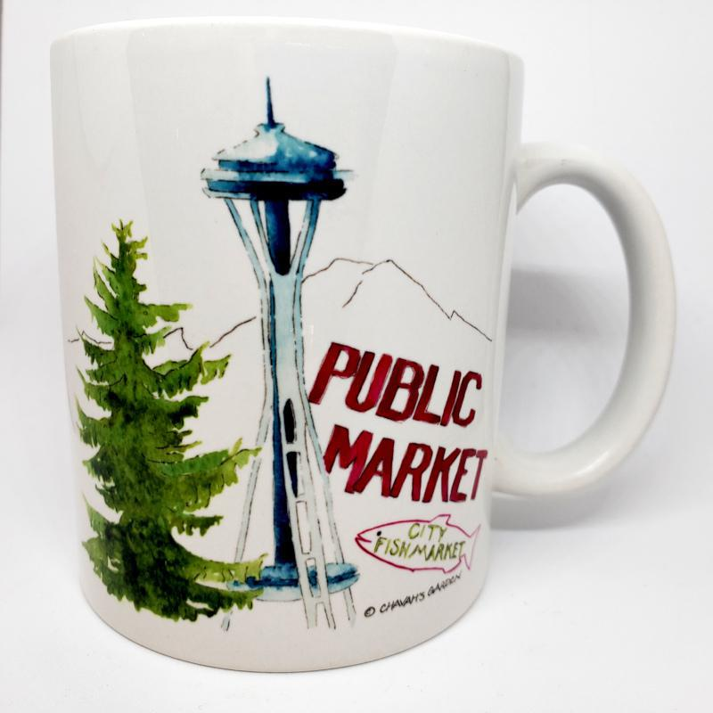 Mug - Seattle by Chavah's Garden
