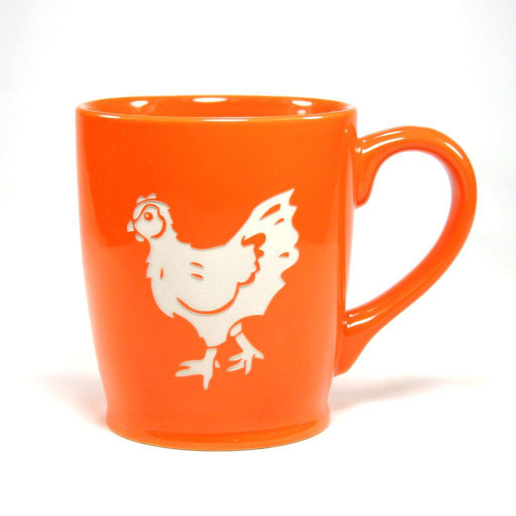 Mug - 16oz Orange Chicken (Retired) by Bread & Badger