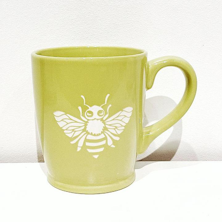 Mug - 16oz Green Bee by Bread & Badger