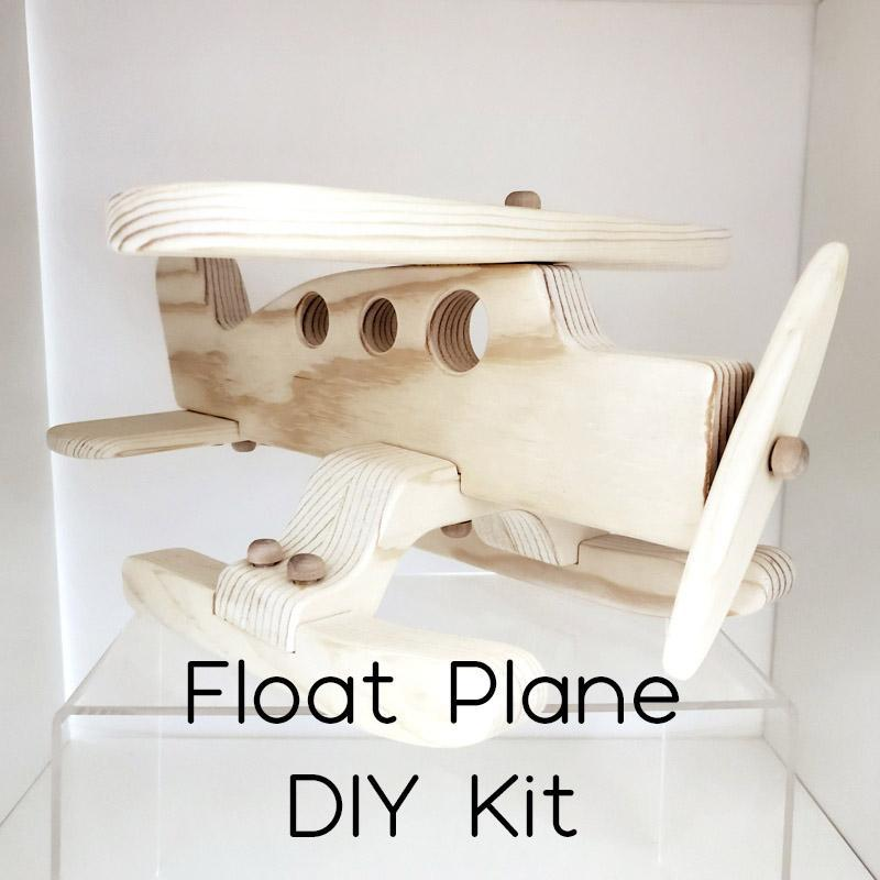 DIY Kit - Float Plane by My Grandpa's Wooden Toys