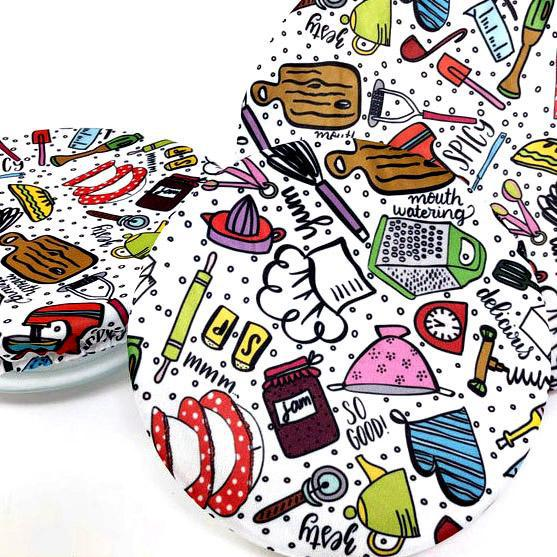 Bowl Covers - Kitchen Gadgets Set of 3 by Semi-Sustainable Goods