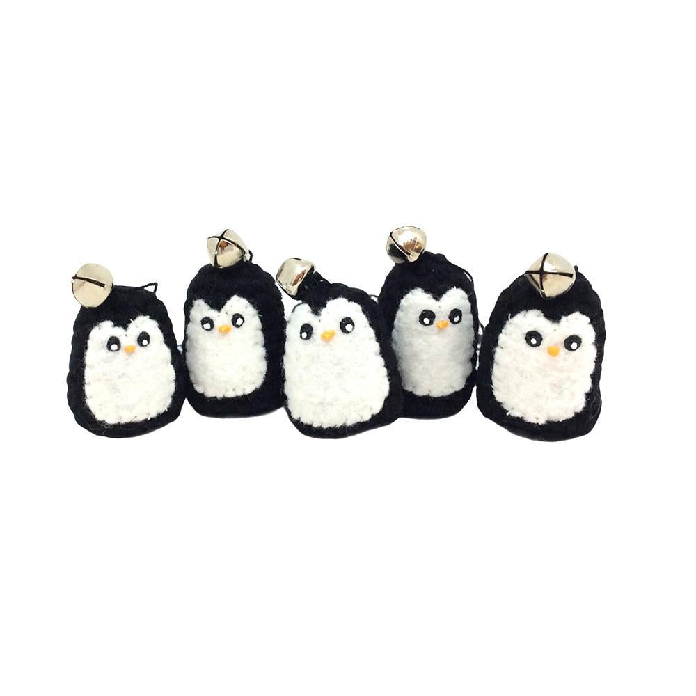 Ornaments - Penguin (Black) by Moyo Workshop