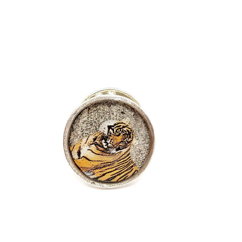 Lapel Pin - Tiger by XV Studios