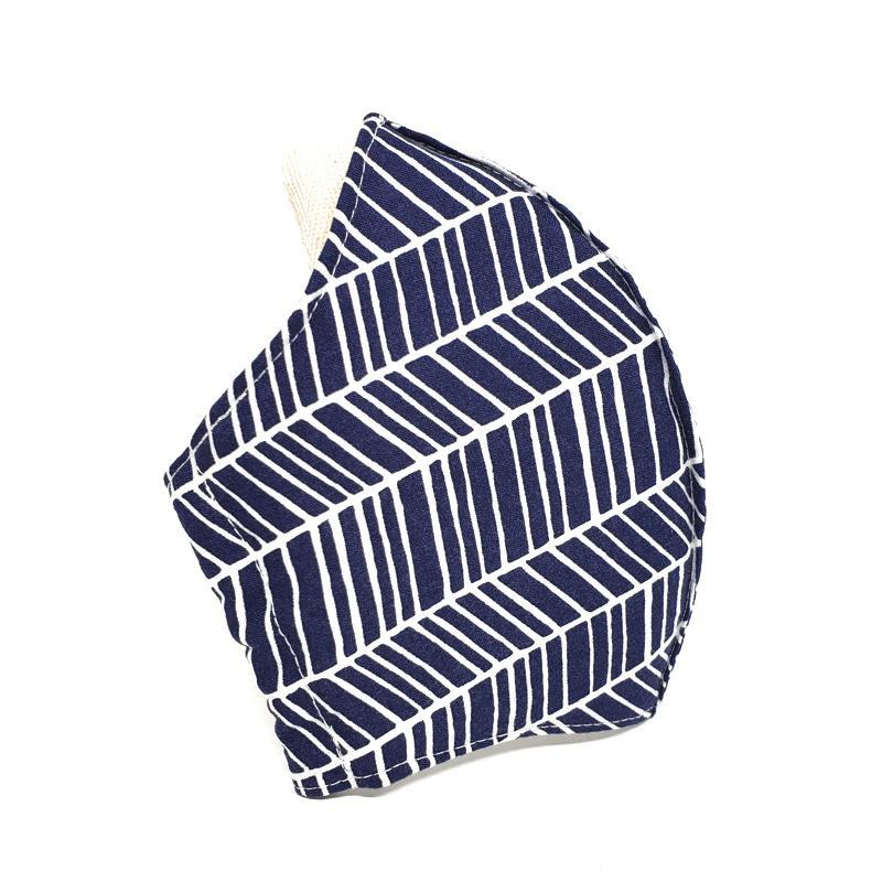 Large - White Feather Lines on Navy (White Lining) by imakecutestuff