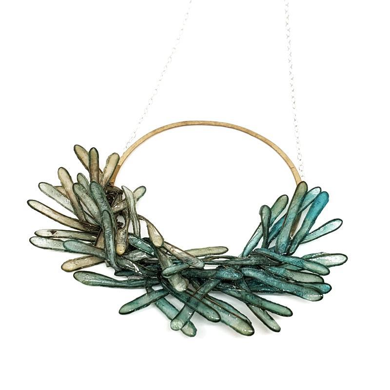 Necklace - Lg Ombre Glacier Rowan by VERSO