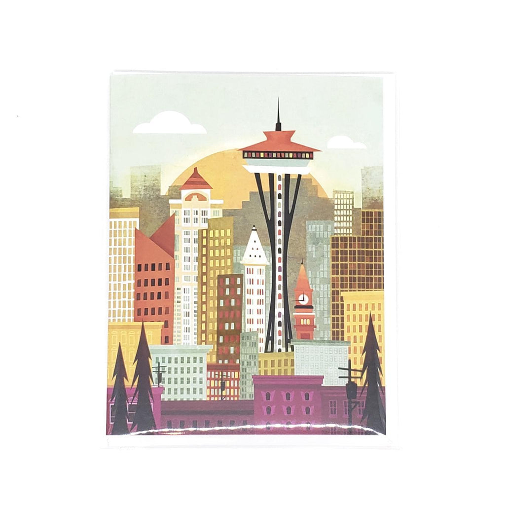 Card - Seattle by Amber Leaders Designs
