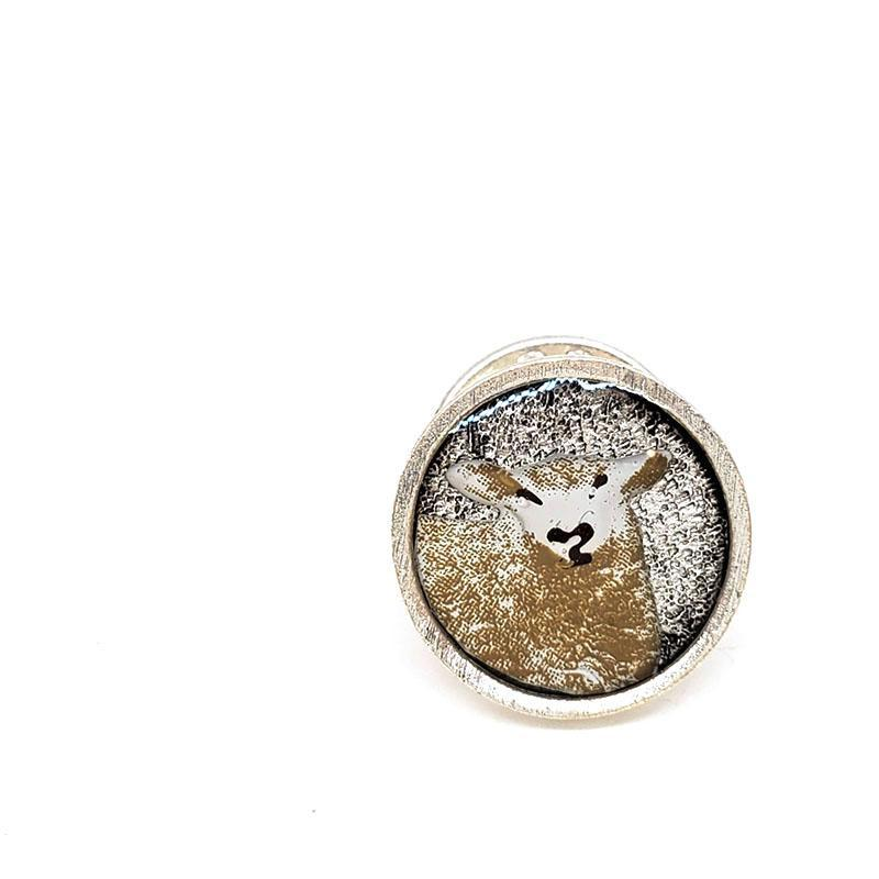 Lapel Pin - Sheep by XV Studios
